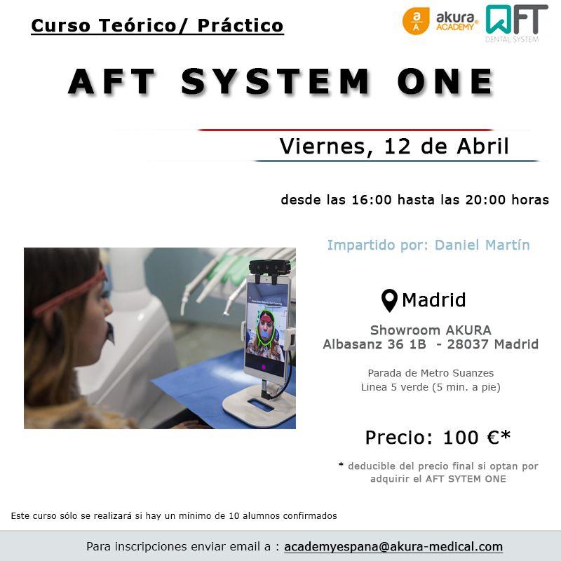 Curso AFT Dental System Madrid